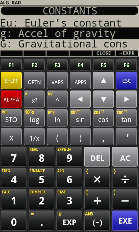 Pg calculator scientific rpn calculator for android.