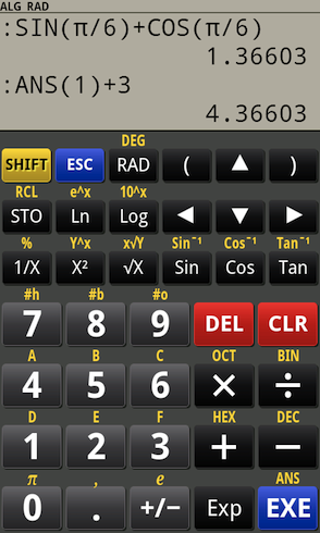 Powerful scientific RPN / Algebra calculator for Android